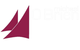 Michael O'Brien Lawyers Logo White